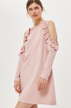 casual ruffle dress