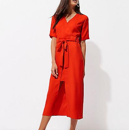 red dress work